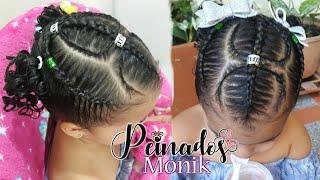 Download Peinado de niña - trenza doble hoja con dos coletas Video