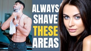 Download 5 Areas Men Should ALWAYS Shave | Women DON'T Want to See Hair Here! Video