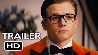 Download Kingsman 2: The Golden Circle Official Trailer #1 (2017) Taron Egerton Action Movie HD Video