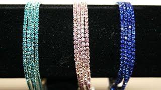 Download diamante crystal bracelet Video