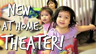 Download OUR NEW AT HOME MOVIE THEATER! - February 27, 2017 - ItsJudysLife Vlogs Video