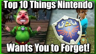Download Top 10 Things Nintendo Wants You To Forget About Zelda Video