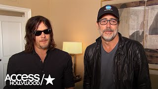 Download Jeffrey Dean Morgan & Norman Reedus Talk Fan Reaction To 'The Walking Dead' S7 Premiere Shockers Video