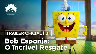 Download Bob Esponja: O Incrível Resgate | Trailer Oficial | DUB | Paramount Pictures Brasil Video