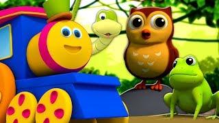 Download Bob el tren | El Sonido de los Animales | Animals Sounds Song Video