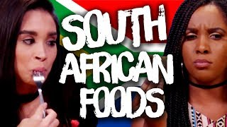 Download Trying Foods from South Africa! (Cheat Day) Video