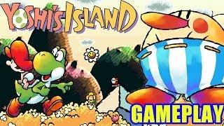 Download Yoshi's Island - Gameplay - O ″Cavalo″ do Mario é babá? Video