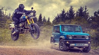 Download Off-Road Race: Suzuki Jimny vs Triumph Scrambler | Top Gear Video
