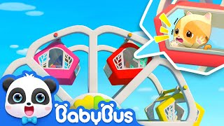 Download Help! The Ferris Wheel is Broken | Super Panda Rescue Team | Kids Safety Tips | BabyBus Song Video