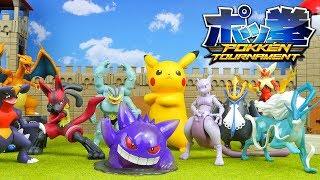 Download Pokemon Toys - Pokken Tournament Figure Collection Unboxing Video
