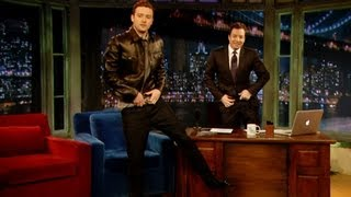 Download Justin Timberlake's Jimmy Fallon Impression (Late Night with Jimmy Fallon) Video