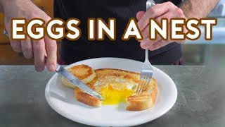 Download Binging with Babish: Eggs in a Nest from Lots of Stuff Video