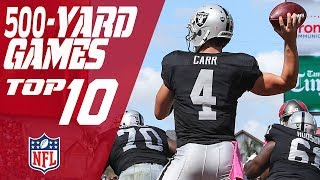 Download Top 10 500-Yard Passing Games in NFL History | NFL Video