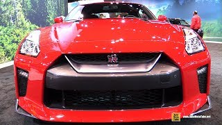 Download 2017 Nissan GTR - Exterior and Interior Walkaround - 2017 Chicago Auto Show Video