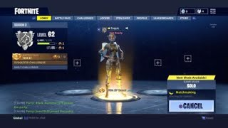 Download Fortnite l Buying Chomp Jr and elite agent l Solo win 1st try Video