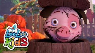 Download Wake Up, Pinky Pig! - THE BEST Songs for Children | LooLoo Kids Video