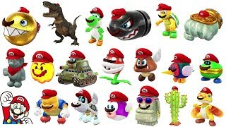 Download Super Mario Odyssey - All Capture Transformations (Gameplay) Video