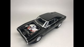 Download Revell: 1970 Dodge Charger from The Fast and The Furious Full Build Step by Step Video