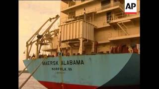 Download US ship attacked by Somali pirates in port, crew members Video