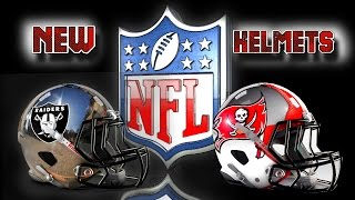 Download New Helmet Designs NEW NFL and NIKE The Future is Now - Amazing New Logos 2016 HD Video