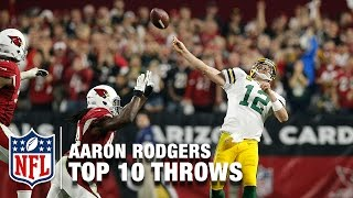 Download Top 10 Aaron Rodgers Playoff Throws | NFL Highlights Video