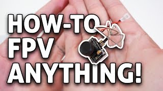 Download How-to RACE ANY RC Drone or Car w/ Tiny FPV Camera & VR Goggles!! Video