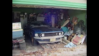 Download 1969 Boss 302 Mustang Barn Find - 196 Miles - 198 miles after clean up Video