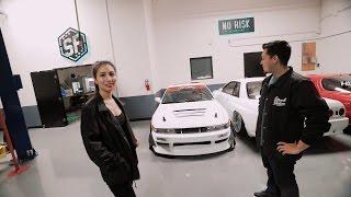 Download SHE DRIVES A DRIFT CAR STREET FACTION Video