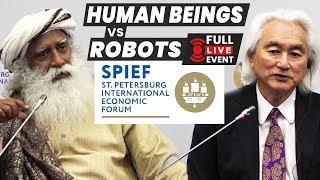 Download Technologies of the Future | Sadhguru and Michio kaku (2018) LIVE from Russia Video