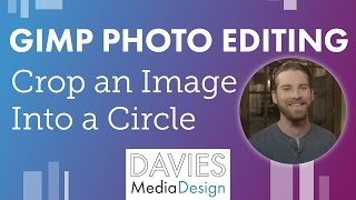 Download How to Make an Image Into a Circle in GIMP 2.8 Video