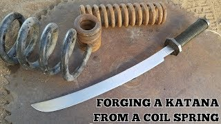 Download Forging A Katana From A Coil Spring Video
