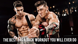 Download BACK DESTROYER - Motivational Workout with Harrison Twins Video