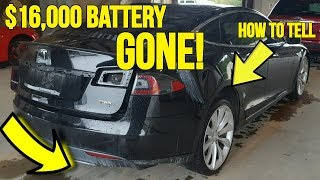 Download Teslas Selling at Auction are Missing $16,000 Battery Packs! Here's how it was discovered... Video