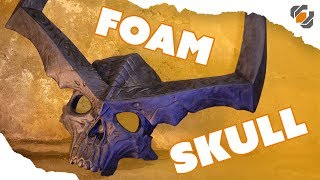 Download EVA Foam Skull - Surtur's Crown - Thor: Ragnarok Video