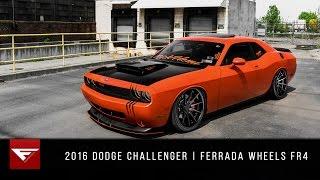 Download Dodge Challenger Hemi | Hellhound Unleashed | Ferrrada Wheels FR4 Video