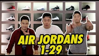 Download AIR JORDANS 1-29 EXPLAINED Video