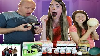 Download Real Egg VS Chocolate Egg Eat It or Wear It Switchup Challenge / That YouTub3 Family Video