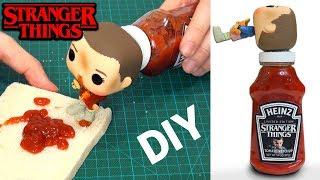 Download Cómo Hacer Stranger Things Ketchup Heinz Edición Limitada DIY en español Video