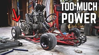 Download 80HP Go Kart Twists Chassis | Burnout Gone WRONG Video
