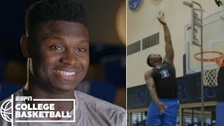 Download Zion Williamson's incredible vertical leap makes highlight dunks possible | College Basketball Video