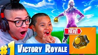 Download *NEW* PORT A FORTRESS GAMEPLAY IN FORTNITE BATTLE ROYALE! DUOS WITH 10 YEAR OLD USING GALAXY SKIN! Video