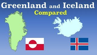 Download Greenland and Iceland Compared Video