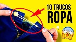 Download ¡10 increíbles TRUCOS para TU ROPA! * LIFE HACKS para ropa que deberías saber Video