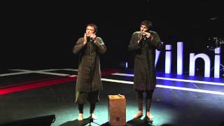 Download Jew's Harp, Listen and You Will Hear It: Valentinas & Viaceslavas at TEDxVilnius Video