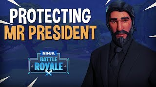 Download Protecting Mr. President - Fortnite Battle Royale Gameplay - Ninja Video
