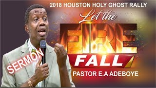 Download Pastor E.A Adeboye Sermon @ RCCG 2018 Houston HOLY GHOST RALLY Video