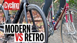 Download Modern VS Retro Road Bike | Cycling Weekly Video