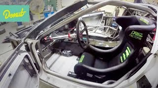 Download Drift Corvette Build - EP3: Installing Steering Column & Fire Suppression | Donut Media Video