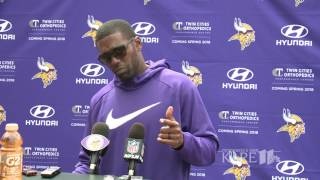 Download Randy Moss gets emotional talking about former coach Dennis Green Video