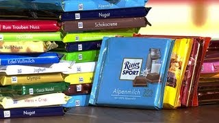 Download MARKTCHECK checkt Ritter Sport - Quadratisch, praktisch, gut? Video